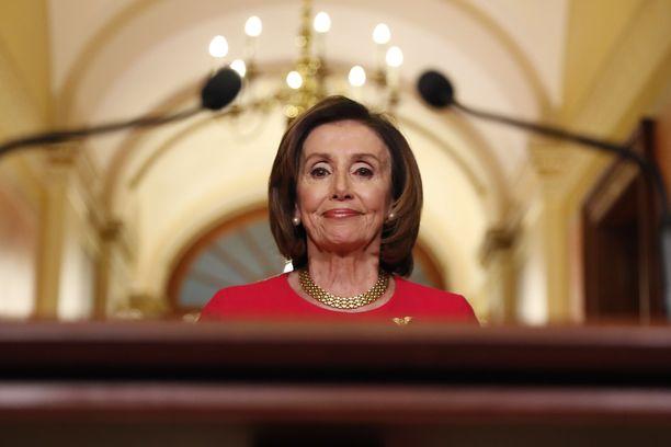 Edustajainhuoneen puhemies Nancy Pelosi edustaa Kalifornian vaalipiiriä.