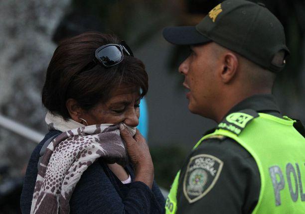 Javier Ortegan äiti Mariana Reyes lähti viime viikolla Kolumbian oikeuslääketieteellisestä instituutista Calista.