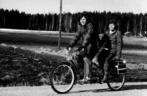 Sirkka ja Károly Garam ehtivät asua yhdessä yli 60 vuotta.