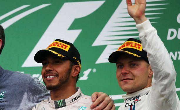 Lewis Hamilton ja Valtteri Bottas miehittävät F1-maailman viime vuosien kärkitallin ajokit.