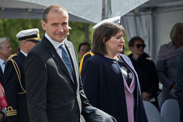 Islannin presidentti Guðni Thorlacius Jóhannesson ja rouva Eliza Jean Reid vierailivat Suomessa kesäkuussa 2017.