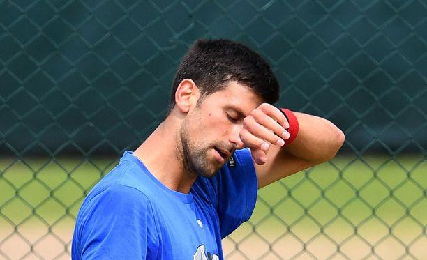 Novak Djokovicin polkupyöräilyt on pyöräilty Lontoossa.