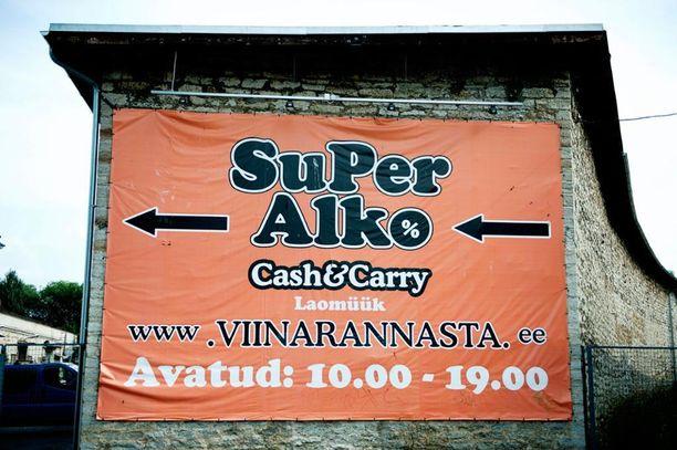 SuperAlko ei saa enää markkinoida tuotteitaan Suomessa.