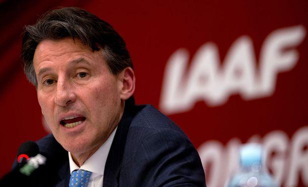 Sebastian Coella on haastava tontti IAAF:n puheenjohtajana.
