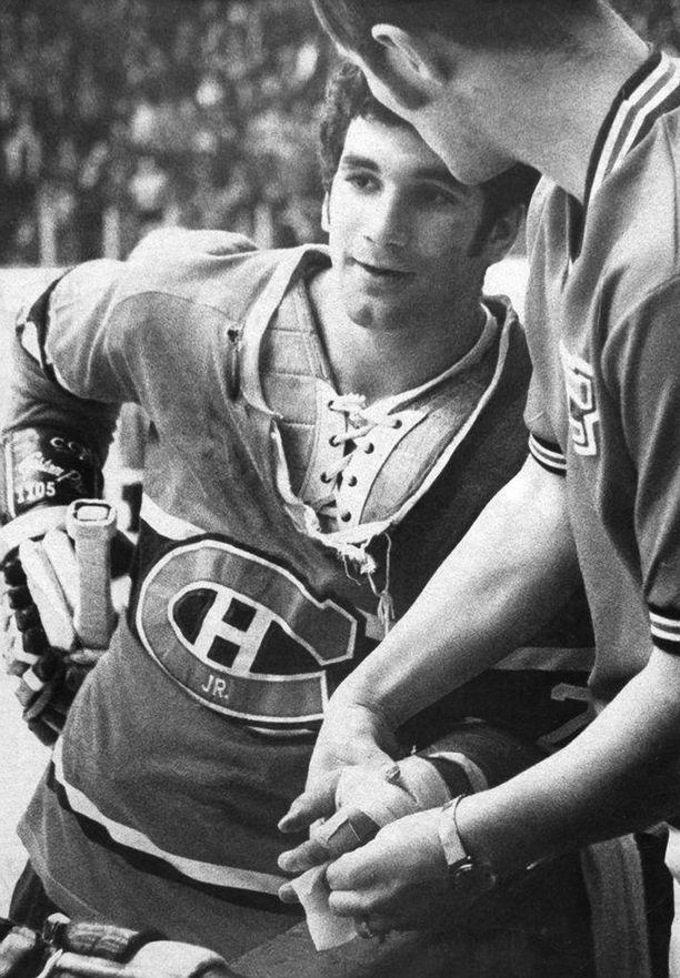 Allan Globensky profiloitui kovanaamaksi Junior-Canadiensin paidassa 1960- ja 1970-luvun vaihteessa.
