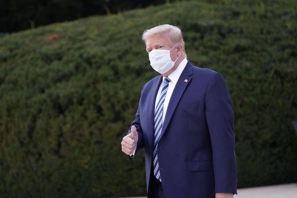 Vaalitappio on vaikea sulattaa Donald Trumpille.