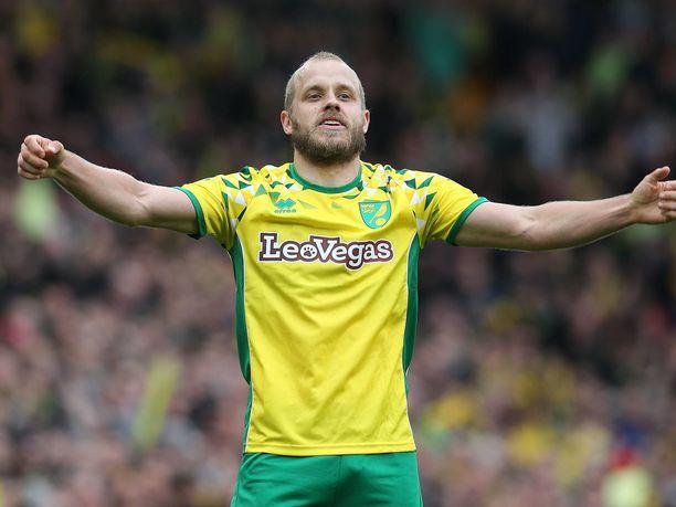 Teemu Pukki on saanut tuulettaa maalia tällä kaudella jo 26 kertaa Norwichin paidassa.