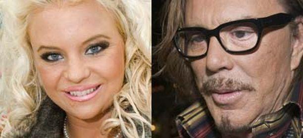 Johanna Tukiainen sai tervehdyksen Oscar-ehdokas Mickey Rorkelta.