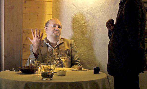 Andy Hayler on elävä legenda, joka rakastaa haute cuisinea.