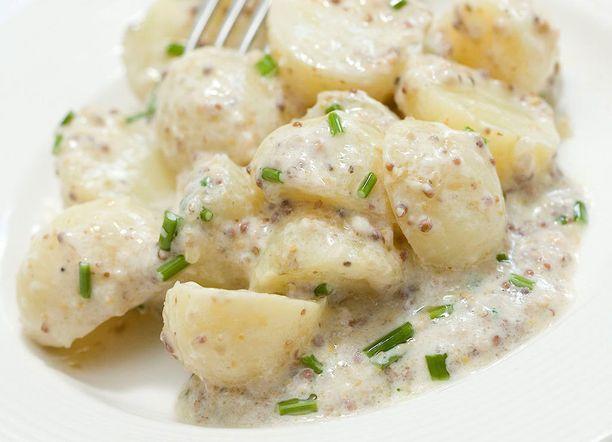 Salaatti uusista perunoista