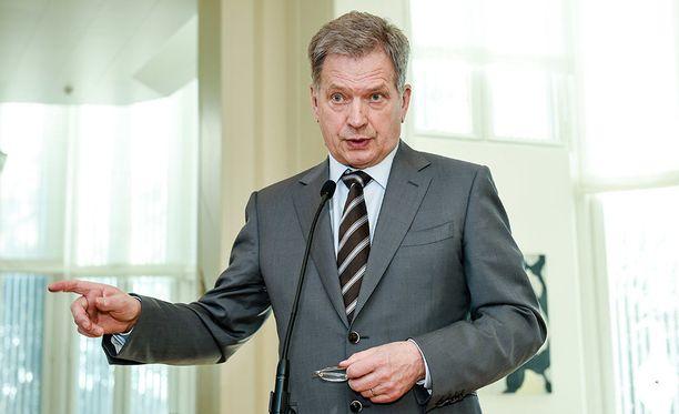 Sauli Niinistö pitää lauantaina noin kello 17.30 puheen Lennart Meri -konferenssissa Tallinnassa.
