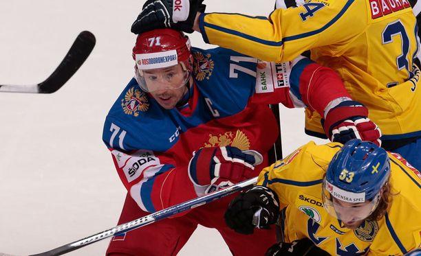 Ilja Kovaltshuk selitteli kiehumistaan lajiluonteella.