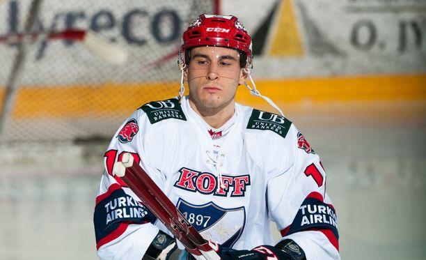 Yohann Auvitu oli HIFK:n sankari.