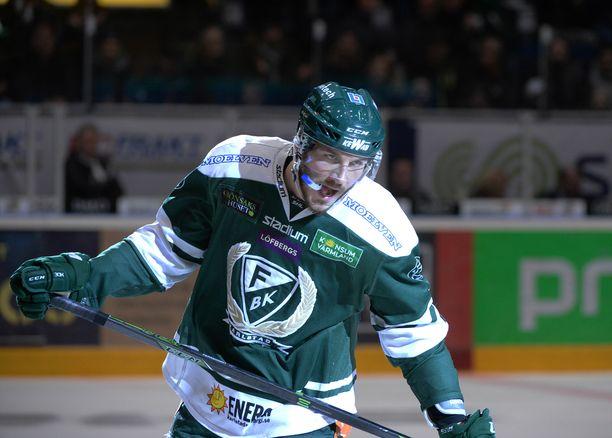 John Persson on pelannut viimeiset neljä kautta Ruotsin liigassa.