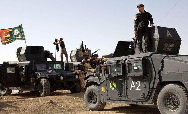 Irakin armeijan joukot hyökkäävät tänään Mosuliin.