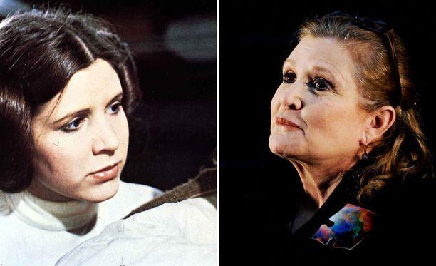 Prinsessa Leian roolista tunnettu Carrie Fisher on kuollut.