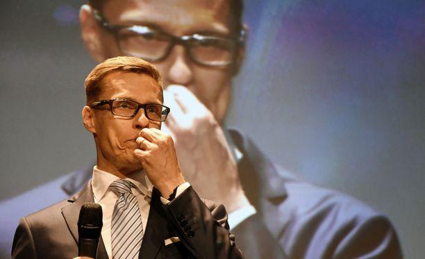 Alexander Stubb väistyi kokoomuksen puoluejohtajan paikalta viime lauantaina pidetyssä puoluekokouksessa.