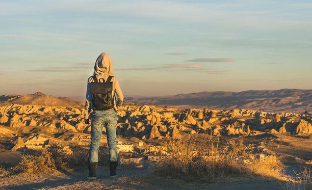 International Women's Travel Center kehottaa ottamaan riskit huomioon listalla olevissa maissa matkustaessa. Kuva Kappadokiasta, Turkista. Turkki on sijalla kuusi järjestön listalla.
