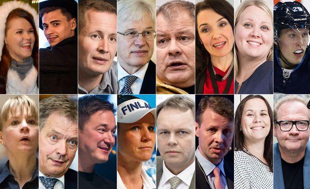 Kuka heistä on mielestäsi Vuoden suomalainen?