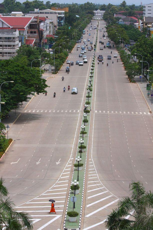 Vientiane on rento pääkaupunki.