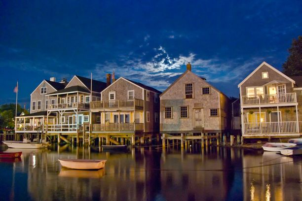 Nantucket on suosittu lomakohde.