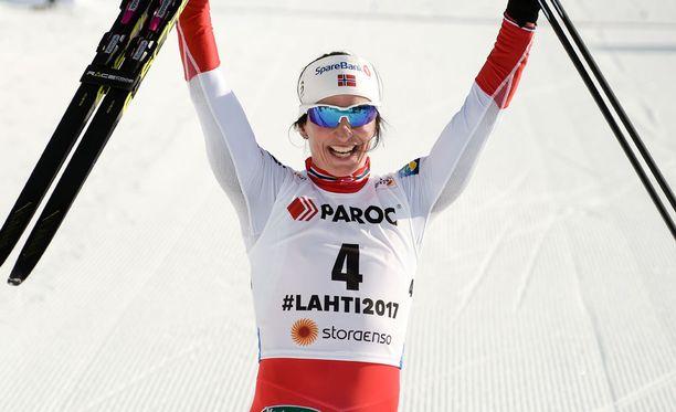Marit Björgenillä on 15 MM-kullan lisäksi 6 olympiakultaa.