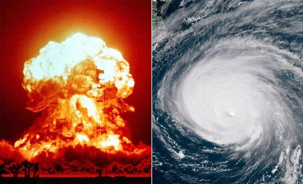 Hurrikaanin ampumista ydinaseella väläyteltiin ensimmäisen kerran noin 60 vuotta sitten.