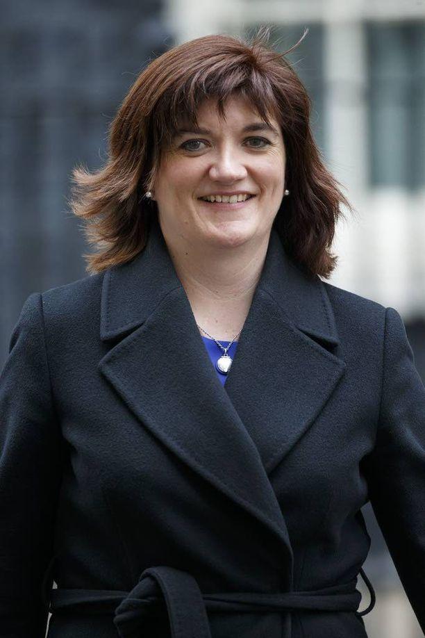 Nicky Morgan on Britannian opetusministeri.
