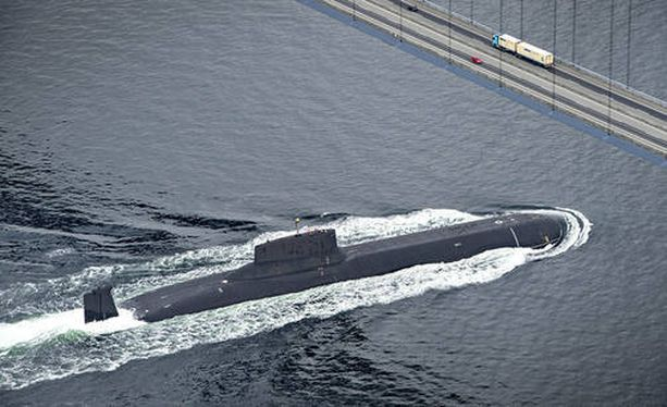 Dmitri Donskoi -ydinsukellusvene oli mukana sotaharjoituksissa.