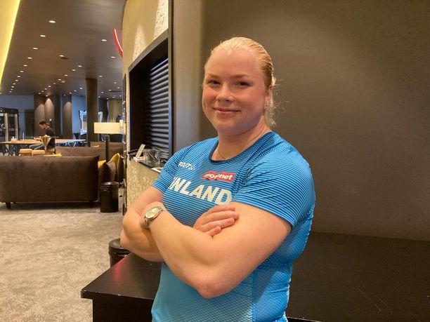 Krista Tervo aloittaa syksyllä sairaanhoitajan opinnot TAMK:issa.
