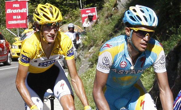 Kärkipari keskittyi kyttäilemiseen Ranskan ympäriajon 14. etapilla.