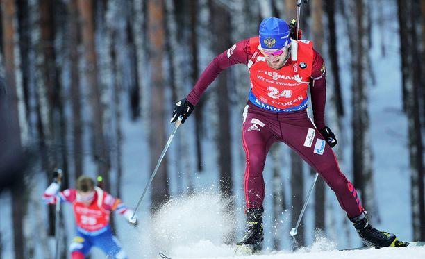 Maksim Tsvetkov voitti ampumahiihdon miesten maailmancupin päätöskisan.