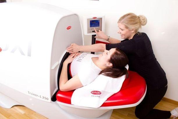 Laite kohdistaa rasvanpolton keski- ja alavartalon alueelle.