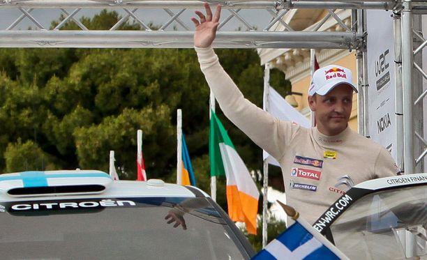 Mikko Hirvonen oli vaikuttunut kokemuksestaan.