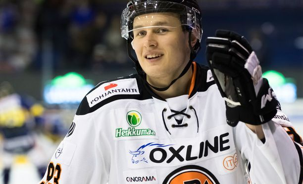 Kristian Vesalainen oli HPK:n ykköstykki Ilvestä vastaan.