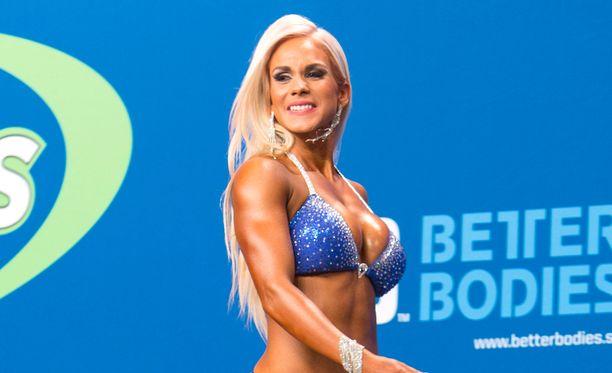 Eevi Teittinen pettyi suoritukseensa viikonlopun fitnesskisoissa.