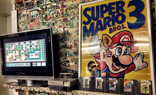 Nintendo-pelit ovat haluttua tavaraa hämeenlinnalaisessa Levymekassa.