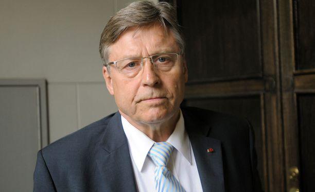 Suomen EU-jäsenyyden pääneuvottelija Pertti Salolainen on kiitollinen presidentti Koivistolta saamastaan tuesta.