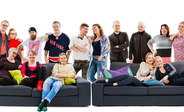Tässä kolmannen kauden sohvikset.