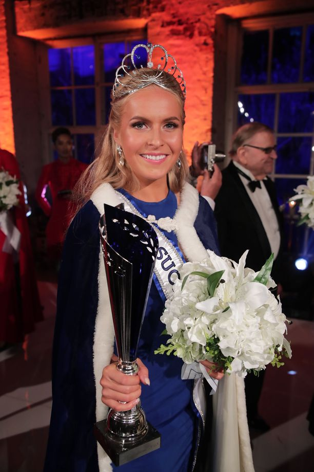 Alina Voronkova on Suomen kaunein vuosimallia 2018.