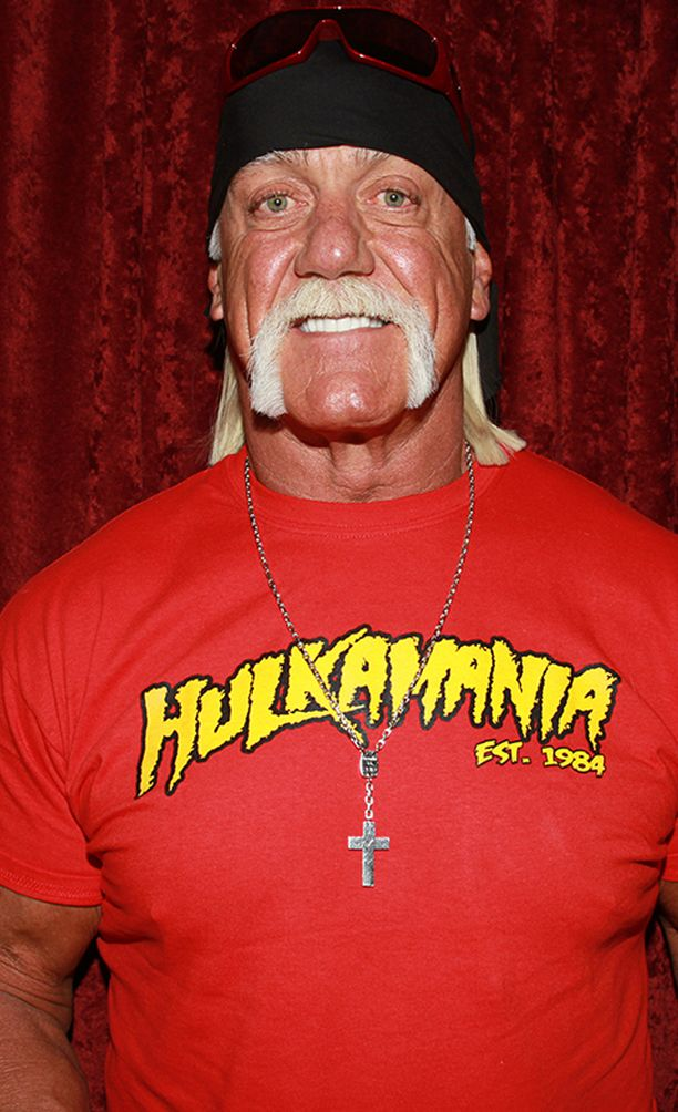 """Tältä näyttää juoksutukan ottajan """"kaksoisolento"""", oikea Hulk Hogan."""