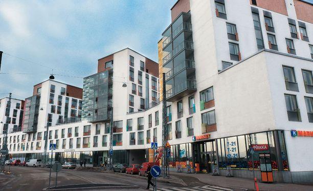 Jätkäsaaren uudelle asuinalueelle rakennetut opiskelija-asunnot ovat suosittuja Helsingissä.