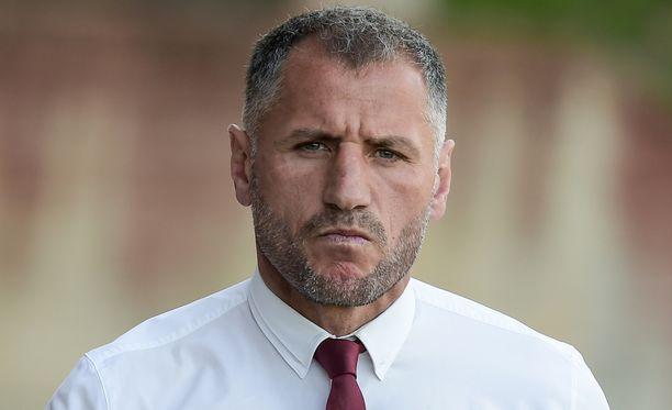 Päävalmentaja Shefki Kuqi harmitteli Interin vaisuutta.