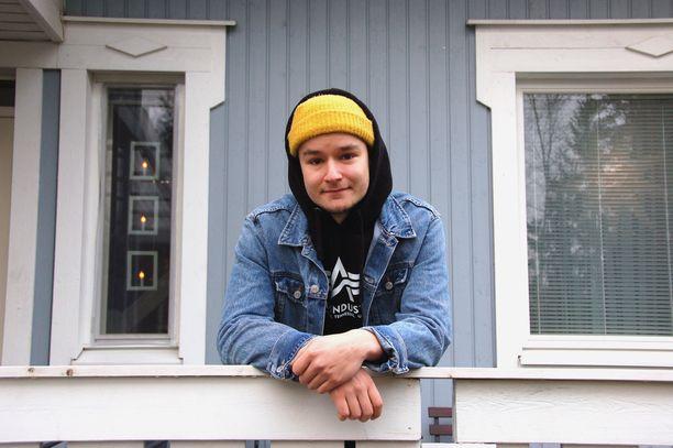 Patrik Blomberg voitti Idolsin viime vuonna.