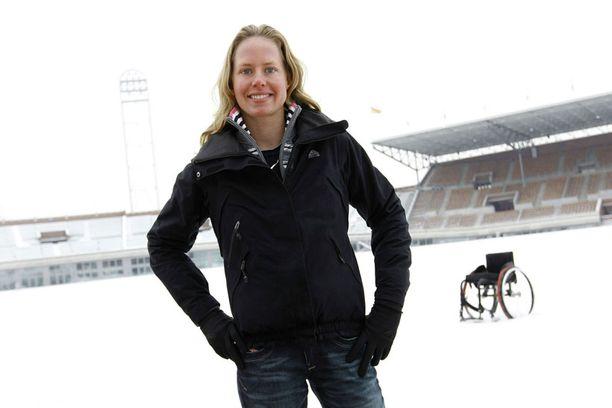 Monique Van der Vorst kilpailee tästä lähtien muiden terveiden kanssa.