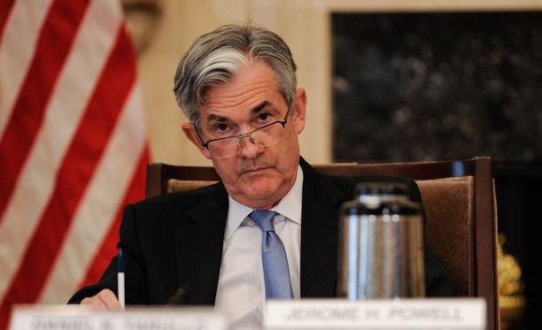 Jerome Powell on 64-vuotis republikaani. Suuria muutoksia ei keskuspankin linjaan odoteta.