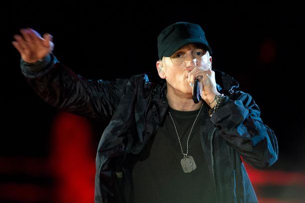 Eminem kuuluu maailman tunnetuimpiin rap-artisteihin.