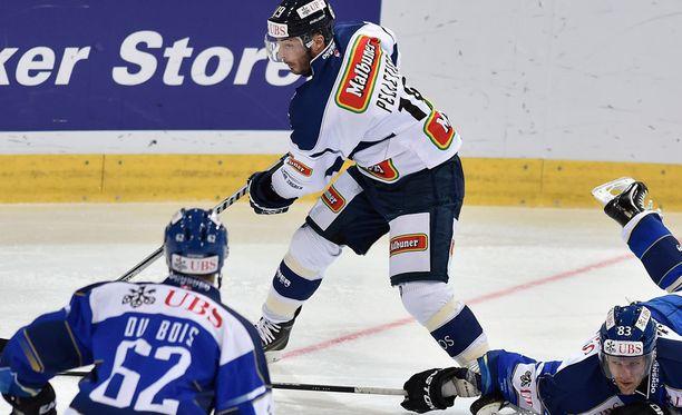 Pascal Pelletier esiintyi tehokkaasti Medvescakin paidassa.