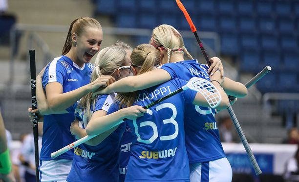 Suomi juhli MM-välierässä Sveitsiä vastaan.