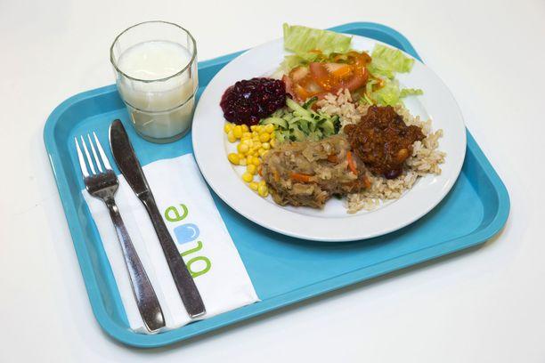 Porilainen Suvi Ketonen toivoo, että kaloritiedot poistettaisiin netissä olevista koulujen ruokalistoista. Kuvituskuva.